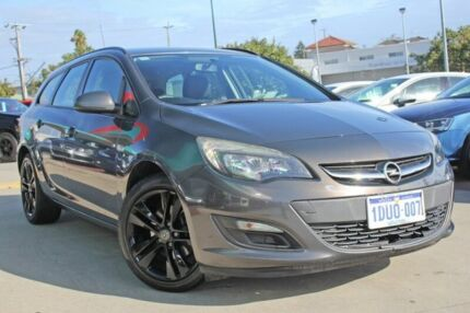 2013 Opel Astra AS Sports Tourer Phantom Grey 6 Speed Sports Automatic Wagon Victoria Park Victoria Park Area Preview