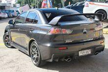 2015 Mitsubishi Lancer CJ MY15 Evolution Final Edition Black 5 Speed Manual Sedan Wolli Creek Rockdale Area Preview
