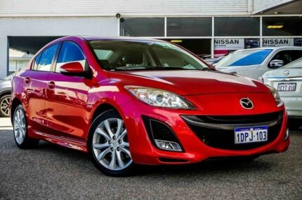 2011 Mazda 3 BL10L2 SP25 Activematic Red 5 Speed Sports Automatic Sedan