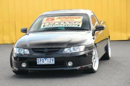 2003 Holden Ute VY II Black 5 Speed Manual Utility