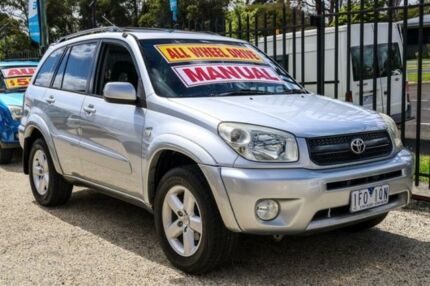 2005 Toyota RAV4 ACA23R Cruiser Silver 5 Speed Manual Wagon Ringwood East Maroondah Area Preview
