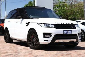 2014 Land Rover Range Rover Sport L494 MY14.5 V8SC COMMANDSHIFT AUTOBIOGRAPHY DYNAMIC White 8 Speed Osborne Park Stirling Area Preview