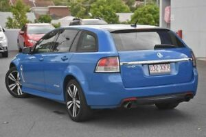 2015 Holden Commodore VF MY15 SV6 Sportwagon Storm Perfect Blue 6 Speed Sports Automatic Wagon