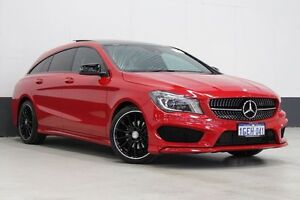 2015 Mercedes-Benz CLA 117 200 Shooting Brake Red 7 Speed Auto Dual Clutch Wagon Bentley Canning Area Preview