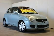 2007 Suzuki Swift EZ 07 Update Blue 5 Speed Manual Hatchback Underwood Logan Area Preview