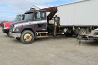 FS: 1998 Freightliner Picker Truck -READY TO WORK