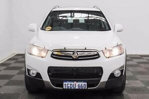 2013 Holden Captiva CG MY13 7 AWD LX White 6 Speed Sports Automatic Wagon Edgewater Joondalup Area Preview