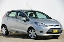 2013 Ford Fiesta WT CL PwrShift Silver 6 Speed Sports Automatic Dual Clutch Hatchback Blacktown Blacktown Area Preview