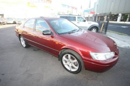 2000 Toyota Camry MCV20R Touring Maroon 4 Speed Automatic Sedan Kingsville Maribyrnong Area Preview