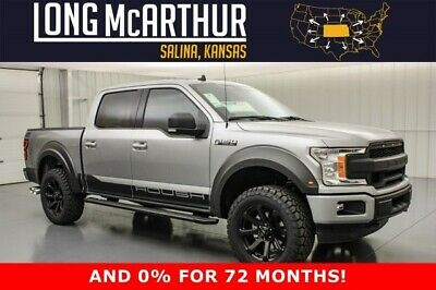 2020 Ford F-150 Roush Off Road Lifted Crew 4x4 MSRP $71905 20in Wheels Roush Active Exhaust Leather Upgrade Fox Shocks