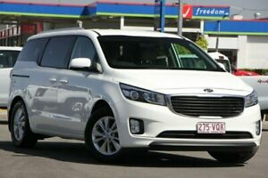 2015 Kia Carnival YP MY16 SI Clear White 6 Speed Sports Automatic Wagon Brendale Pine Rivers Area Preview