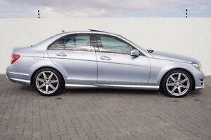 2013 Mercedes-Benz C250 W204 MY13 Elegance 7G-Tronic + Silver 7 Speed Sports Automatic Sedan Wangara Wanneroo Area Preview