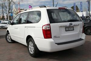 2012 Kia Grand Carnival VQ MY13 SI White 6 Speed Automatic Wagon Waitara Hornsby Area Preview