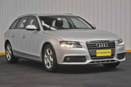 2011 Audi A4 B8 8K MY11 Avant Multitronic Silver 8 Speed Constant Variable Wagon Hendra Brisbane North East Preview