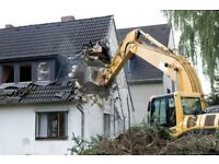 Demolition and groundwork's / garden levelling / garden groundwork's