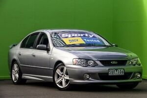 2004 Ford Falcon BA XR6 Grey 4 Speed Sports Automatic Sedan Ringwood East Maroondah Area Preview