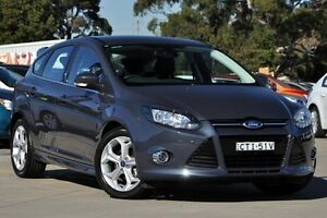 2014 Ford Focus LW MK2 Sport Grey 6 Speed Automatic Hatchback Greenacre Bankstown Area Preview