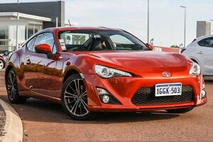 2012 Toyota 86 ZN6 GTS Orange 6 Speed Sports Automatic Coupe East Rockingham Rockingham Area Preview