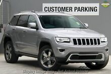 2015 Jeep Grand Cherokee WK MY15 Limited (4x4) Billet Silver 8 Speed Automatic Wagon Zetland Inner Sydney Preview