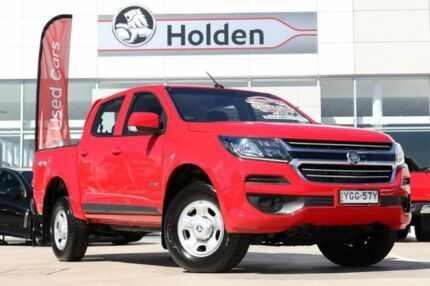 2017 Holden Colorado RG MY17 LS Pickup Crew Cab Red 6 Speed Sports Automatic Utility