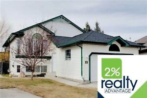 NEW LISTING in Sylvan Lake * UNIQUE LAYOUT * Fully Developed