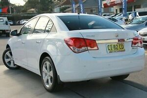 2011 Holden Cruze JG CDX White 6 Speed Sports Automatic Sedan Pennant Hills Hornsby Area Preview