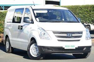 2010 Hyundai iLOAD TQ-V Crew Cab White 5 Speed Sports Automatic Van Acacia Ridge Brisbane South West Preview