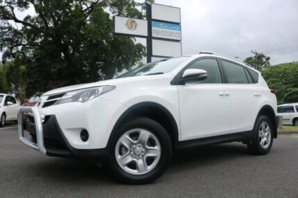 2015 Toyota RAV4 ALA49R GX AWD White 6 Speed Sports Automatic Wagon Earlville Cairns City Preview