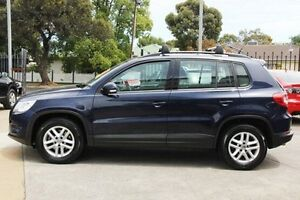 2011 Volkswagen Tiguan 5N MY11 125TSI DSG 4MOTION Blue 7 Speed Sports Automatic Dual Clutch Wagon Hillcrest Port Adelaide Area Preview
