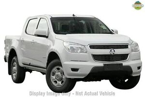 2013 Holden Colorado RG MY14 LX Crew Cab White 6 Speed Sports Automatic Utility Osborne Park Stirling Area Preview