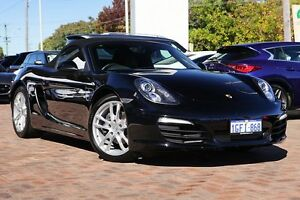 2015 Porsche Boxster 981 MY15 Black 6 Speed Manual Convertible Osborne Park Stirling Area Preview