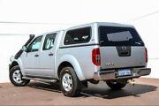 2009 Nissan Navara D40 ST-X Silver 6 Speed Manual Utility Maddington Gosnells Area Preview