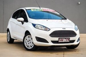 2014 Ford Fiesta WZ Ambiente PwrShift White 6 Speed Sports Automatic Dual Clutch Hatchback Yeerongpilly Brisbane South West Preview