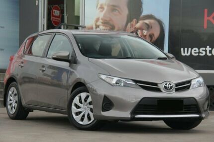 2013 Toyota Corolla ZRE182R Ascent Positano Bronze 7 Speed CVT Auto Sequential Hatchback
