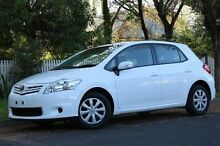 2011 Toyota Corolla ZRE152R MY11 Ascent White 4 Speed Automatic Hatchback Hawthorn Mitcham Area Preview