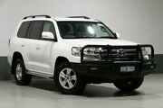 2016 Toyota Landcruiser VDJ200R MY16 GXL (4x4) White 6 Speed Automatic Wagon Bentley Canning Area Preview
