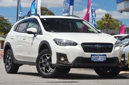 2017 Subaru XV G5X MY18 2.0i-L Lineartronic AWD Crystal White 7 Speed Constant Variable Wagon