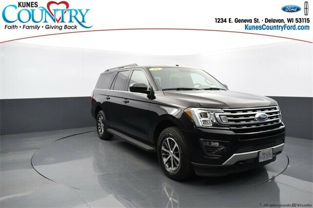2019 Ford Expedition Max XLT Agate Black Metallic 4D Sport Utility - Shipping Av