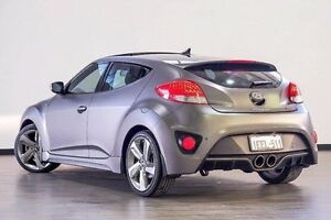 2013 Hyundai Veloster FS2 SR Coupe Turbo Grey 6 Speed Sports Automatic Hatchback Myaree Melville Area Preview