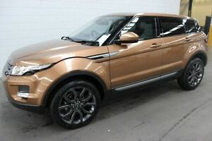 2014 Land Rover Range Rover Evoque L538 MY15 Bronze 9 Speed Sports Automatic Wagon Burnie Area Preview