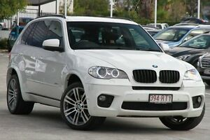 2011 BMW X5 E70 MY12 xDrive30d Steptronic White 8 Speed Sports Automatic Wagon Toowong Brisbane North West Preview