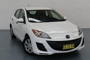 2009 Mazda 3 BL10F1 Neo White 6 Speed Manual Hatchback Glendale Lake Macquarie Area Preview