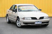 2002 Mitsubishi Magna TJ MY02 Executive Fawn 4 Speed Automatic Sedan Heatherton Kingston Area Preview