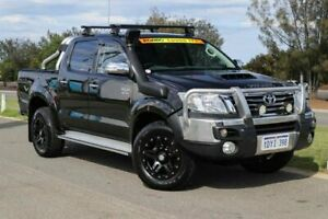 2012 Toyota Hilux KUN26R MY12 SR5 Double Cab Ink 4 Speed Automatic Utility Clarkson Wanneroo Area Preview