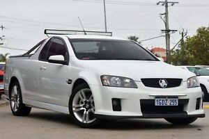 2010 Holden Ute VE MY10 SV6 Heron White 6 Speed Manual Utility Victoria Park Victoria Park Area Preview