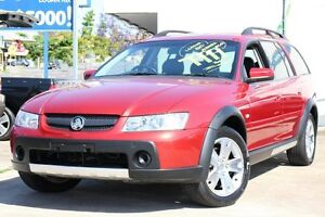 2005 Holden Adventra VZ CX6 Red 5 Speed Automatic Wagon Greenslopes Brisbane South West Preview