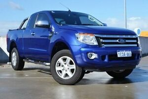 2014 Ford Ranger PX XLT Super Cab Blue 6 Speed Manual Utility Midland Swan Area Preview