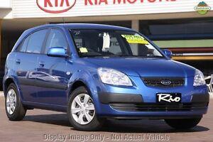 2009 Kia Rio JB MY09 LX Blue 5 Speed Manual Hatchback Burnie Area Preview