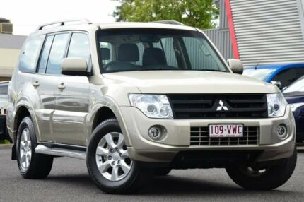 2013 Mitsubishi Pajero NW MY13 GLX-R Gold 5 Speed Auto Seq Sportshift Wagon Moorooka Brisbane South West Preview