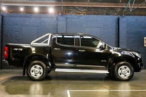2012 Holden Colorado RG MY13 LX Crew Cab Black 5 Speed Manual Utility Northbridge Perth City Area Preview